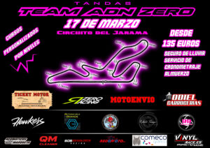 Jarama 17 de Marzo Tandas libres y curso @ CIRCUITO DEL JARAMA