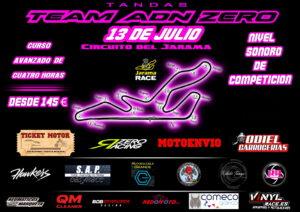 JARAMA 13 DE JULIO TANDAS LIBRES Y CURSO CON LIMITACION SONORA DE CARRERAS @ CIRCUITO DEL JARAMA